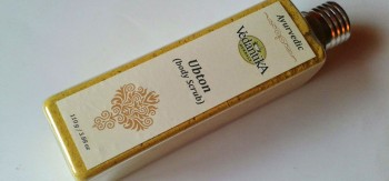 Vedantika Herbals Ubton (body scrub) Review - Natasha Bhatt