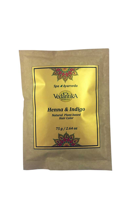 Henna & Indigo (Natural Hair color)