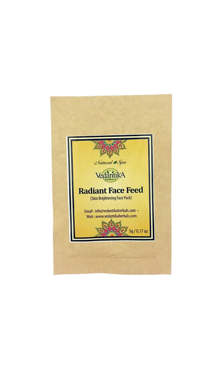 SACHET RADIANT FACE FEED