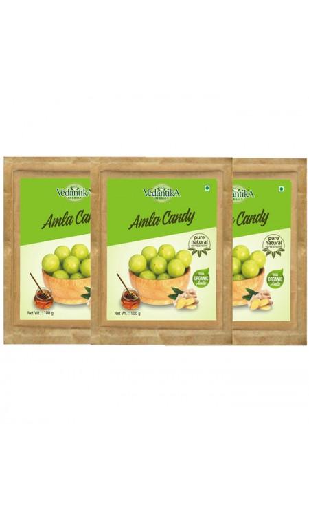 Organic Amla Candy Tri pack