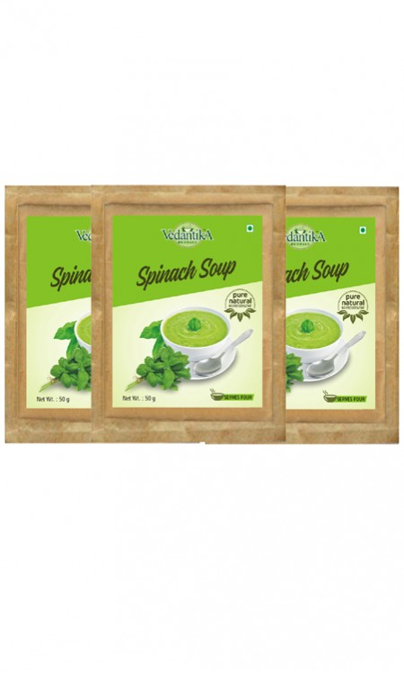 Instant  Spinach  Soup (tri Pack)