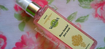 Vedantika Herbals Rose-Sandal face wash Review - Eleena Alphonso