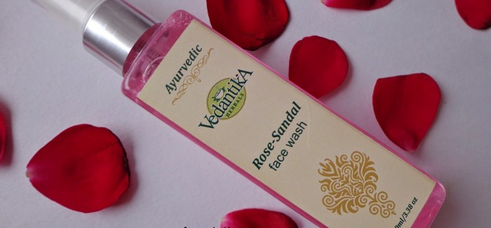 Vedantika Herbals Rose-Sandal face wash Review - Sri Ramani