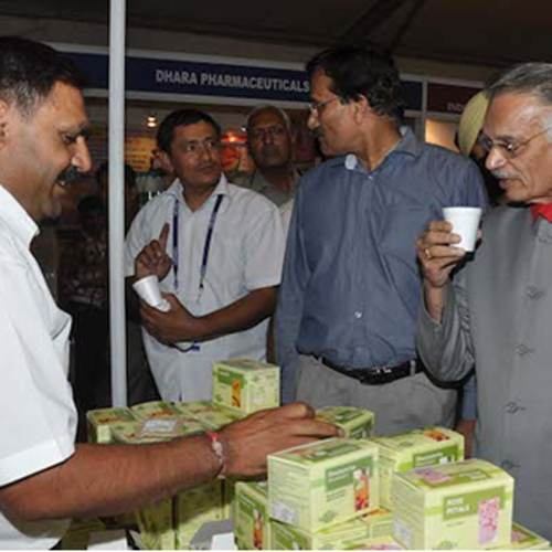 Punjab Governor Shivraj Patil Appreciating the Vedantika Product