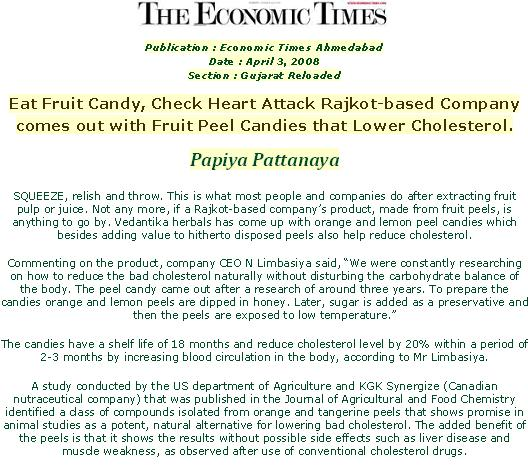 Press Release in Economic Times