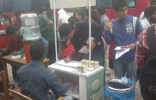 Blood Donation camp at – Sri Guru Gobind Singh College of Commerce University of Delhi