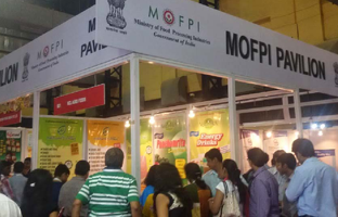 Food and Beverage Tech 2014 , Mumbai - Vedantika's innovative Herbal Drinks  were the crowed puller