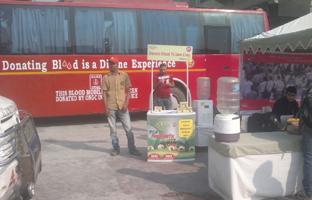 Blood Donation camp At  Select City Walk Mall, Saket , New Delhi